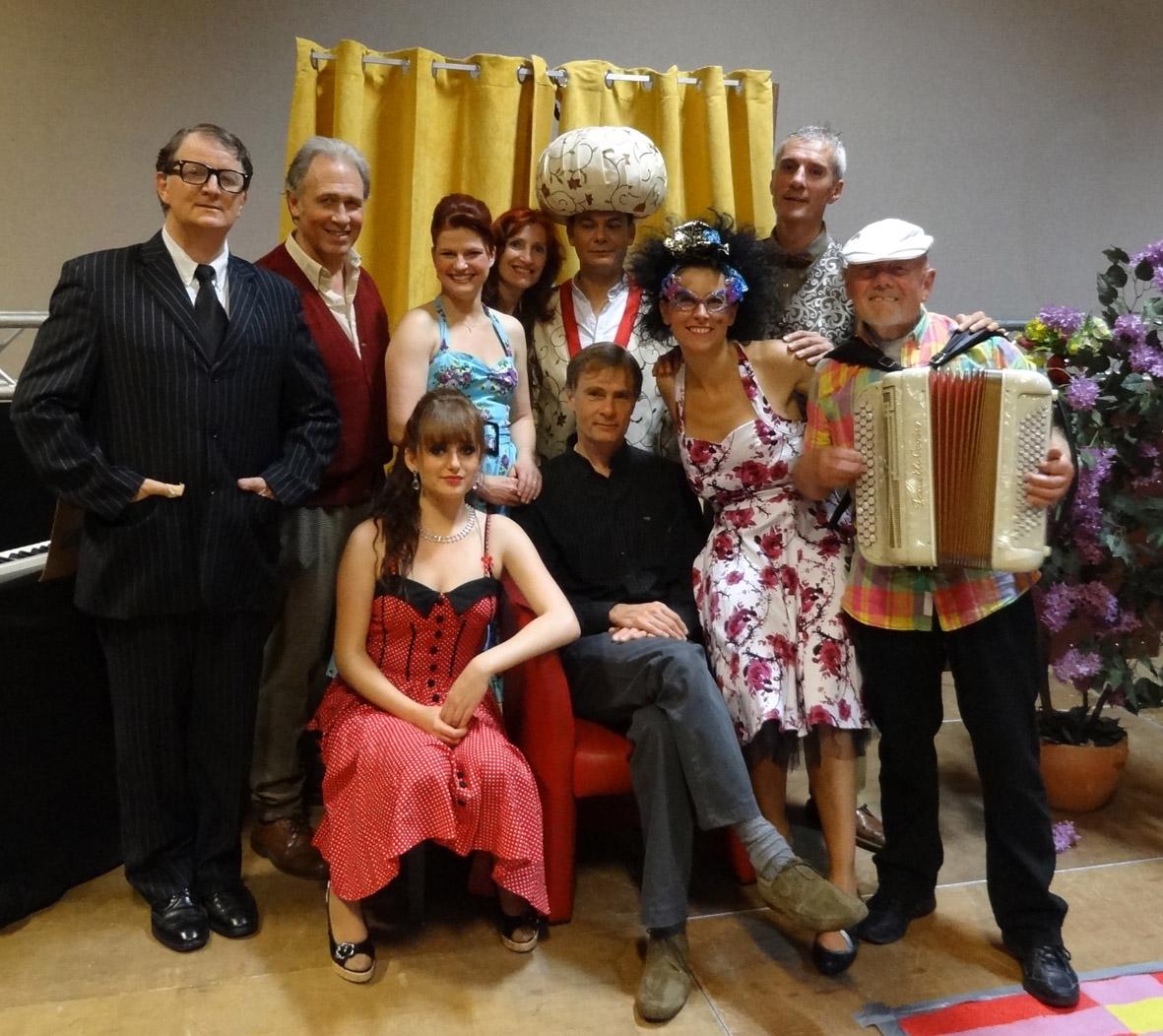 Photo compagnie la barcarolle bellegarde sur valserine pièce de théâtre