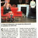 Photo compagnie la barcarolle bellegarde sur valserine pièce de théâtre presse